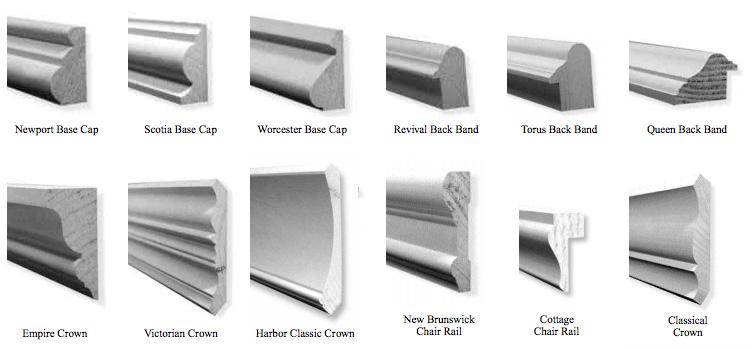 Princeton Molding Types
