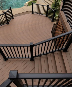 Azek Morado Deck and Railing