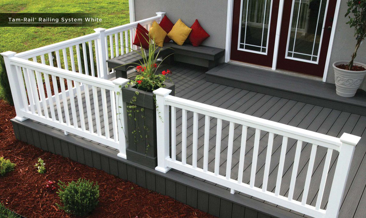 deck railing system long island century building materials