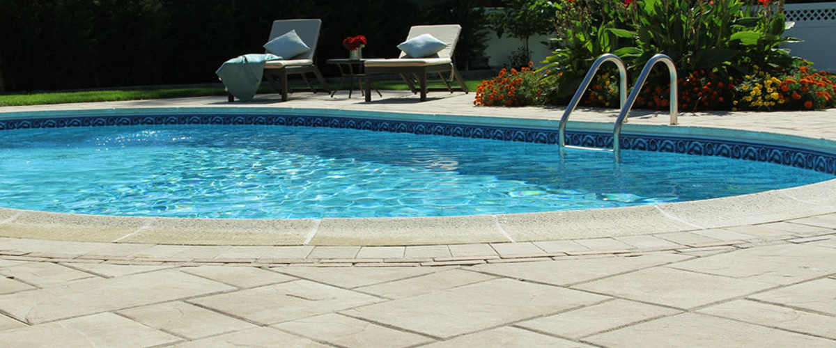 Nicolock pool paving stones Long Island Century Building Materials