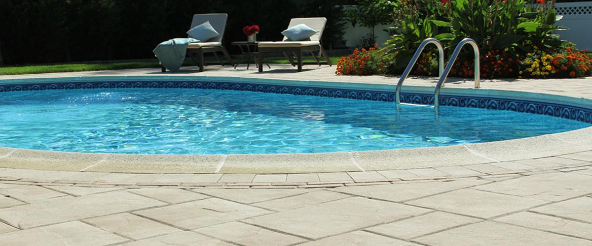 Nicolock pool paving stones Long Island Century Building Materials