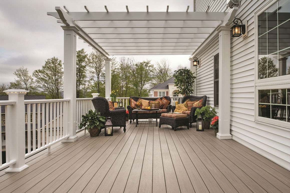 Azek Decking from Century Building Materials
