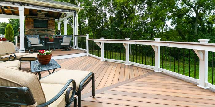 Fiberon Decking Long Island Century Building