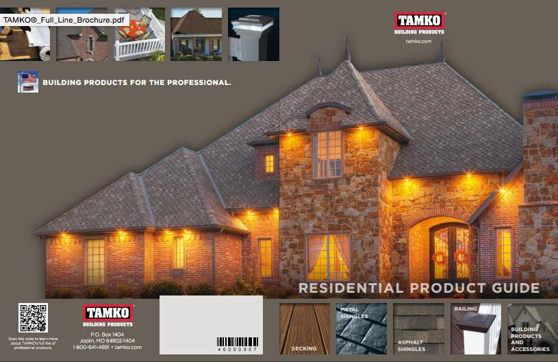 tamko catalog