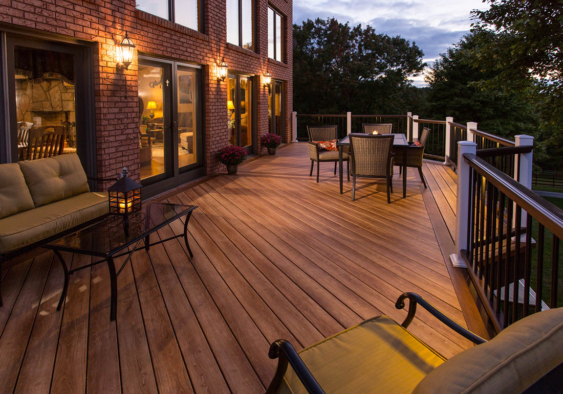 Zuri Decking From Century Building Materials of Long Island