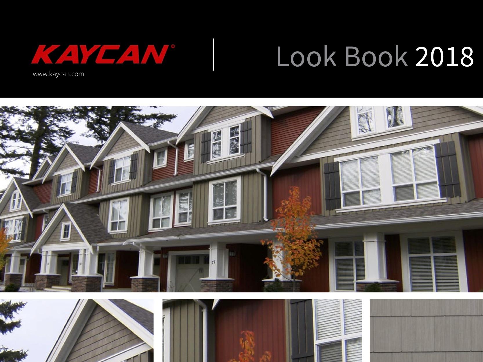 Kaycan Siding Look Book