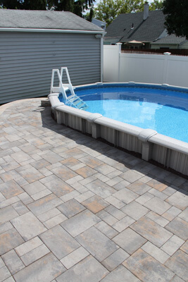 Stone Ridge Westchester Blend pool decking