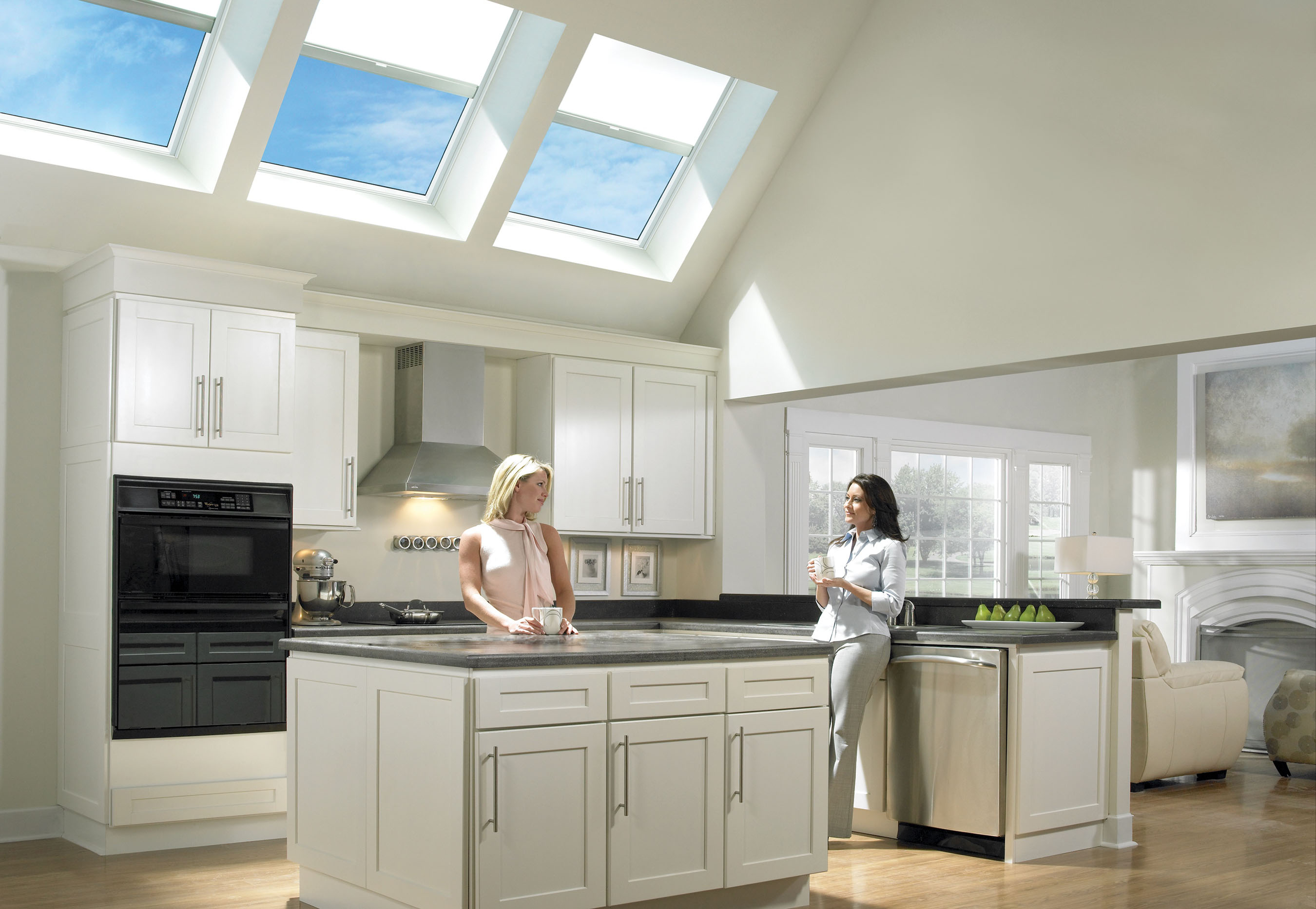 Marvin Windows & Skylights with Velux Shades